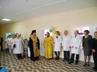 Освящение детского отделения больницы