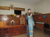 Богослужение в онкологическом отделении