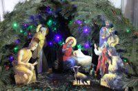 Рождественский вертеп в храме
