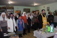Сёстры милосердия помолились о здравии
