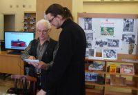 Встреча с читателями библиотеки