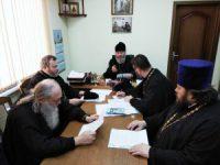 Заседание членов Епархиального совета